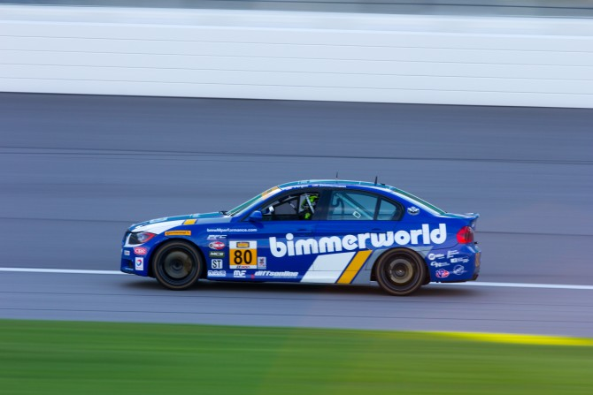 BimmerWorld Returns to the Brickyard with Another Victory in Mind