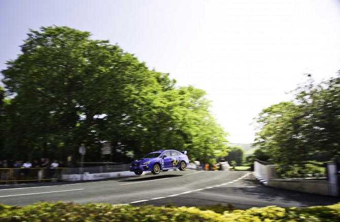 SUBARU RELEASES VIDEO OF ISLE OF MAN TT COURSE RECORD LAP IN THE NEW 2015 WRX STI