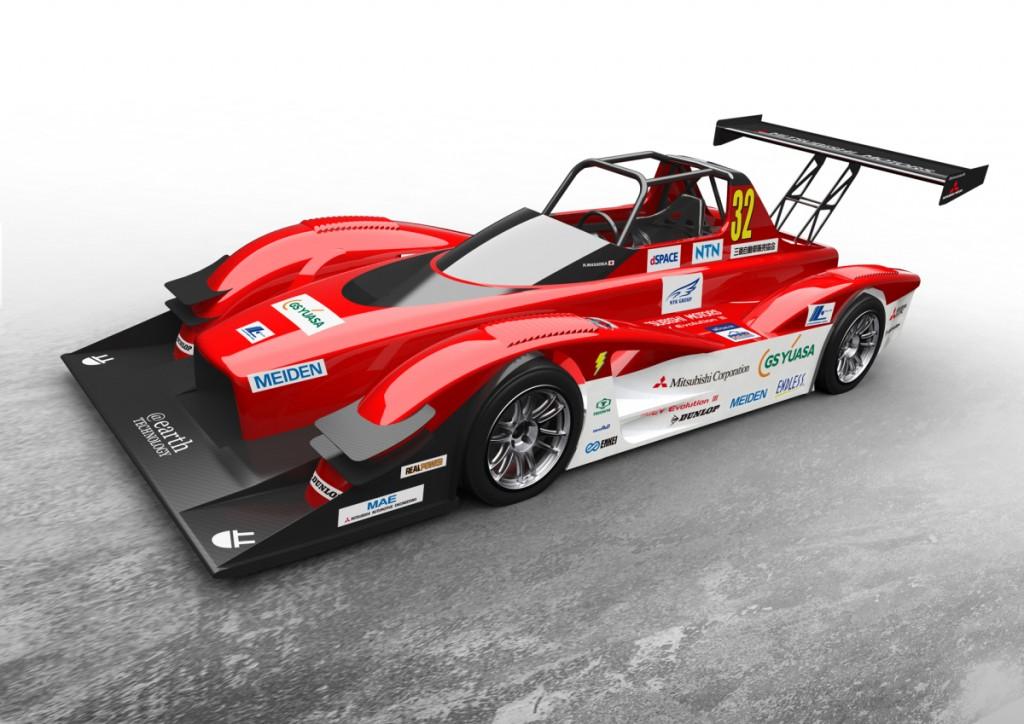 MiEV Evolution III 100% Electric-Powered Purpose-Built Racecars