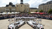 PORSCHE FACTORY TEAM PREPARES TO START LE MANS 24 HOURS