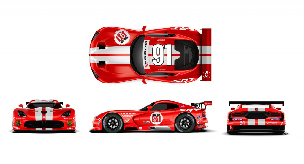 SRT (Street and Racing Technology) Motorsports is honoring the D
