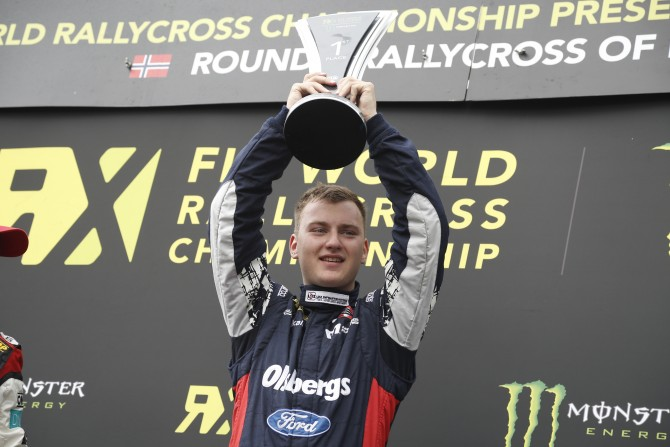 NITISS TAKES MAIDEN WORLD RX WIN AT HELL