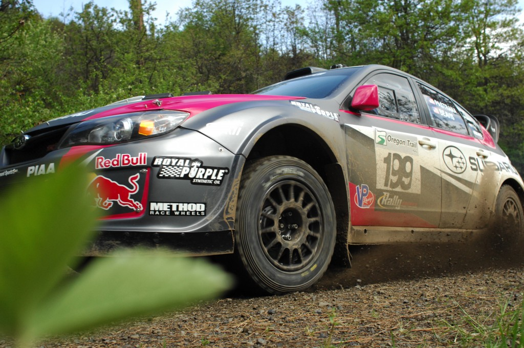 Travis Pastrana  and codriver Chrissie Beavis are hungry for a place finish this weekend, and claiming a new record at the Subaru Mt. Washington Hillclimb