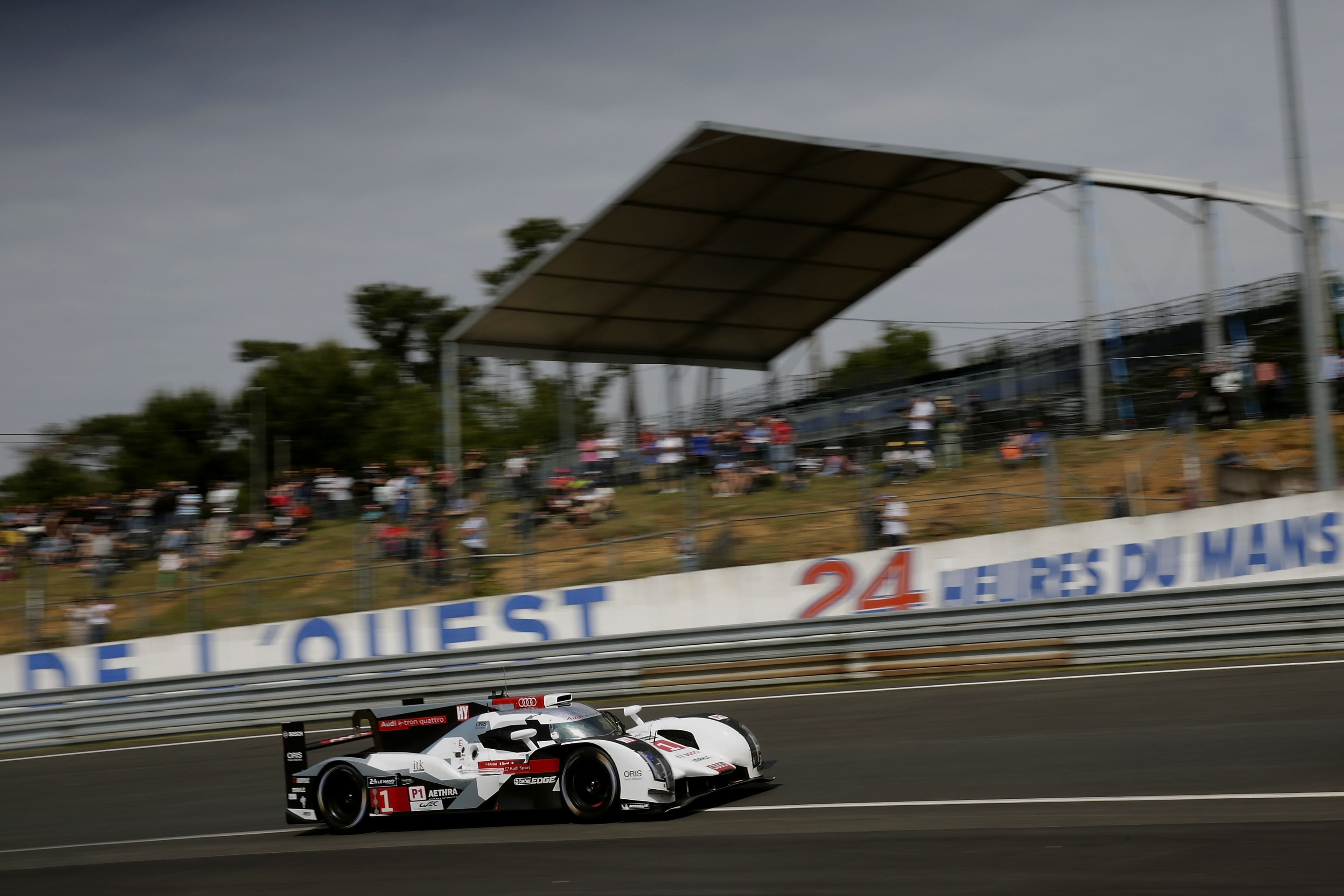 Successful Le Mans 24 Hour Test For Audi R18 E Tron