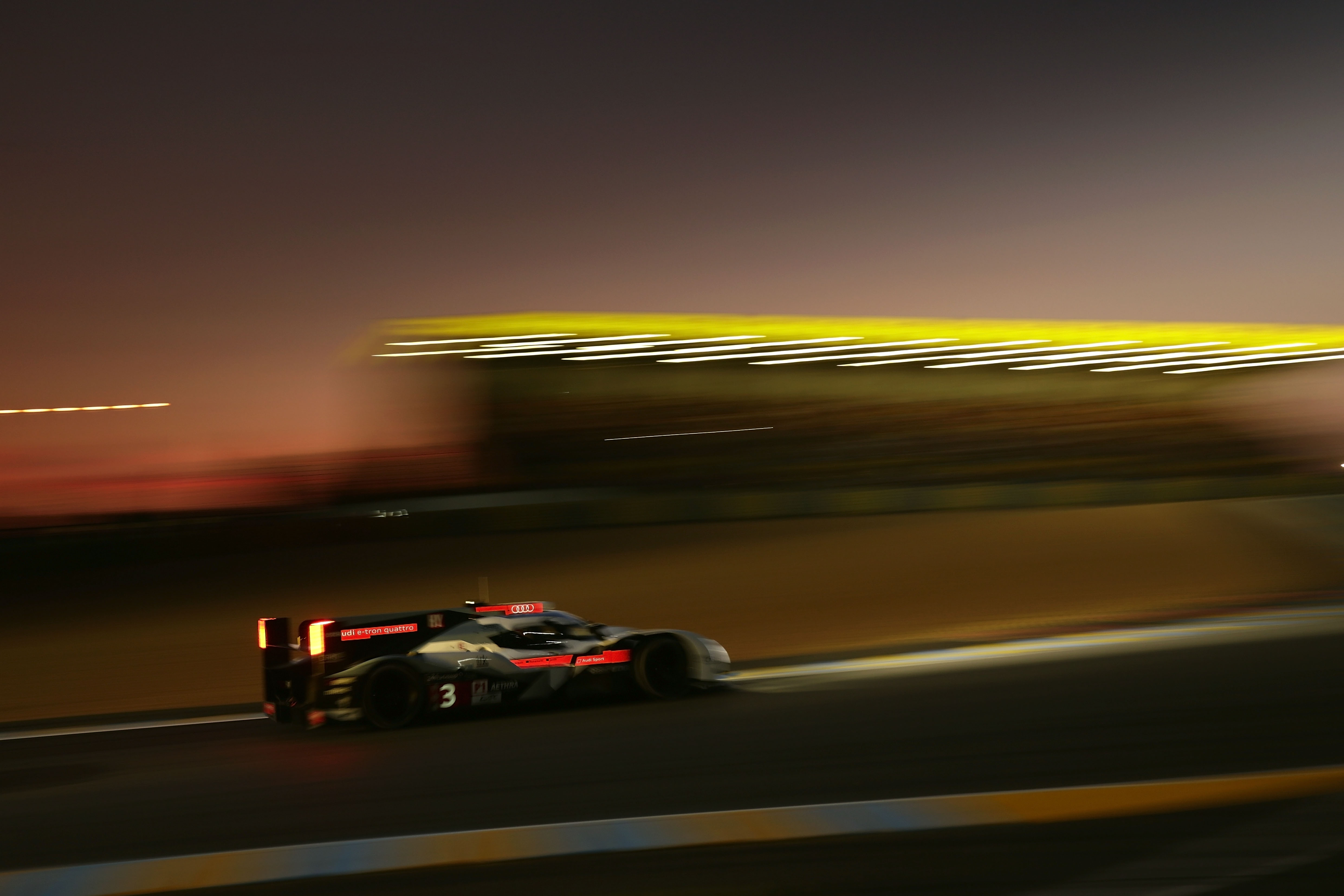 Night Shift For Audi At Le Mans Build Race Party