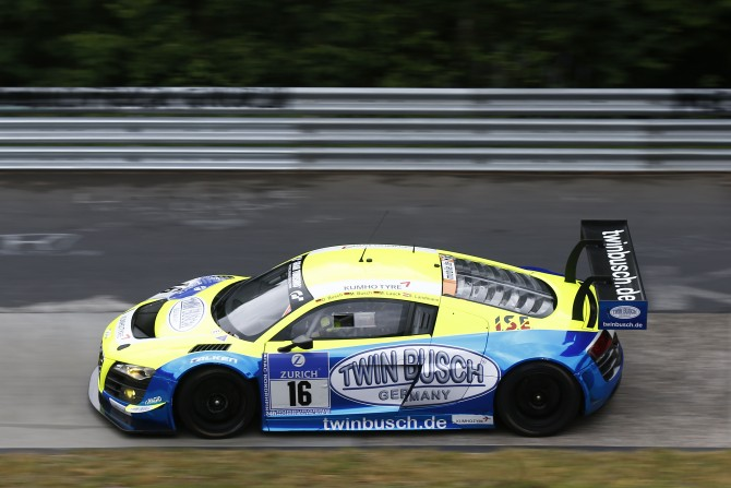 PRIVATEER KUMHO-SHOD AUDI R8 ACHIEVES MEMORABLE RESULT IN NÜRBURGRING 24 HOUR RACE