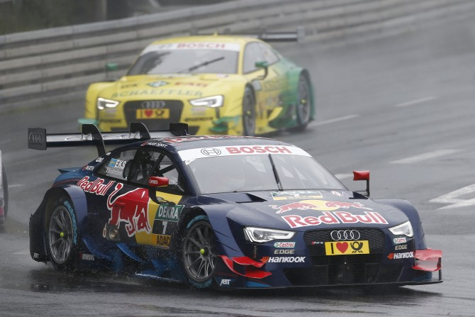 STRONG AUDI PERFORMANCE AT THE NORISRING