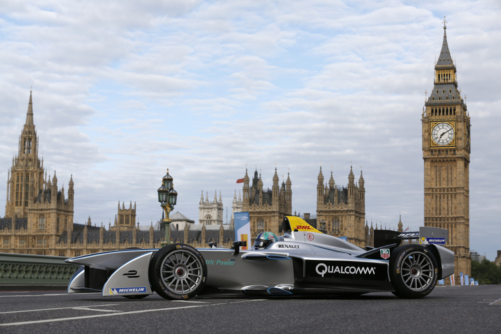 4. Formula E is the world's first fully-electric race series