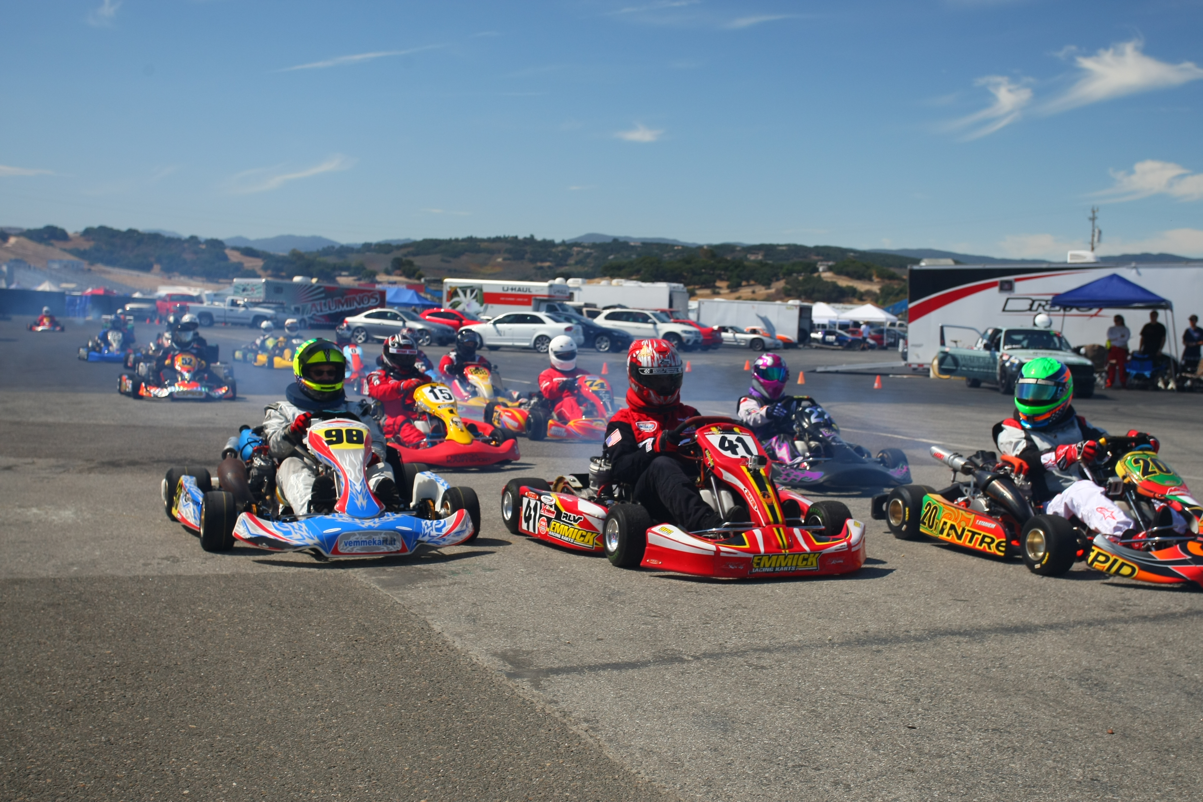 Shifter Kart Racing at Laguna Seca – Build Race Party
