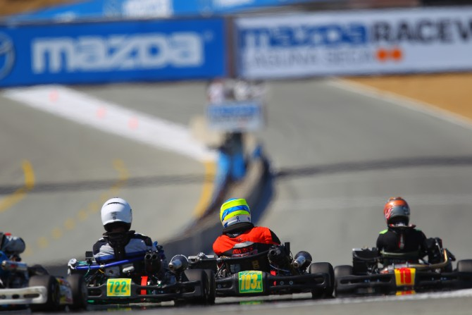 Shifter Kart Racing at Laguna Seca
