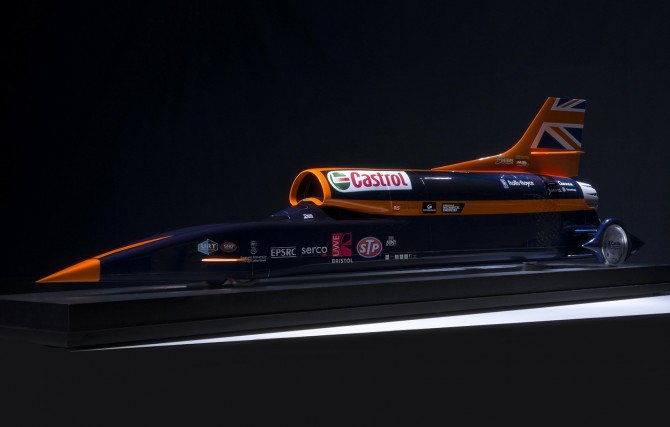 The Bloodhound SSC land rocket