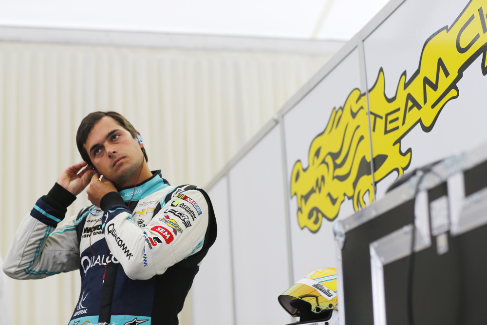 1. Nelson Piquet Jr will compete for the China Racing Formula E team