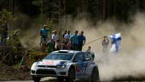VOLKSWAGEN DRIVER LATVALA TRIUMPHS IN WRC HOME EVENT