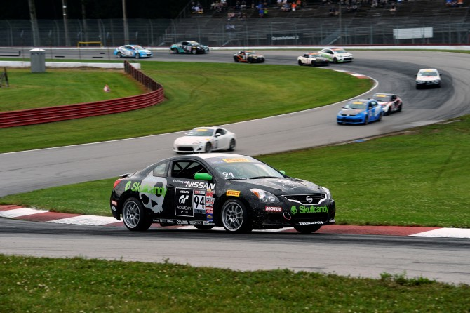 GT ACADEMY 2012 CHAMPION DOHERTY TAKES SECOND PODIUM OF THE WEEKEND IN ALTIMA AT MID-OHIO