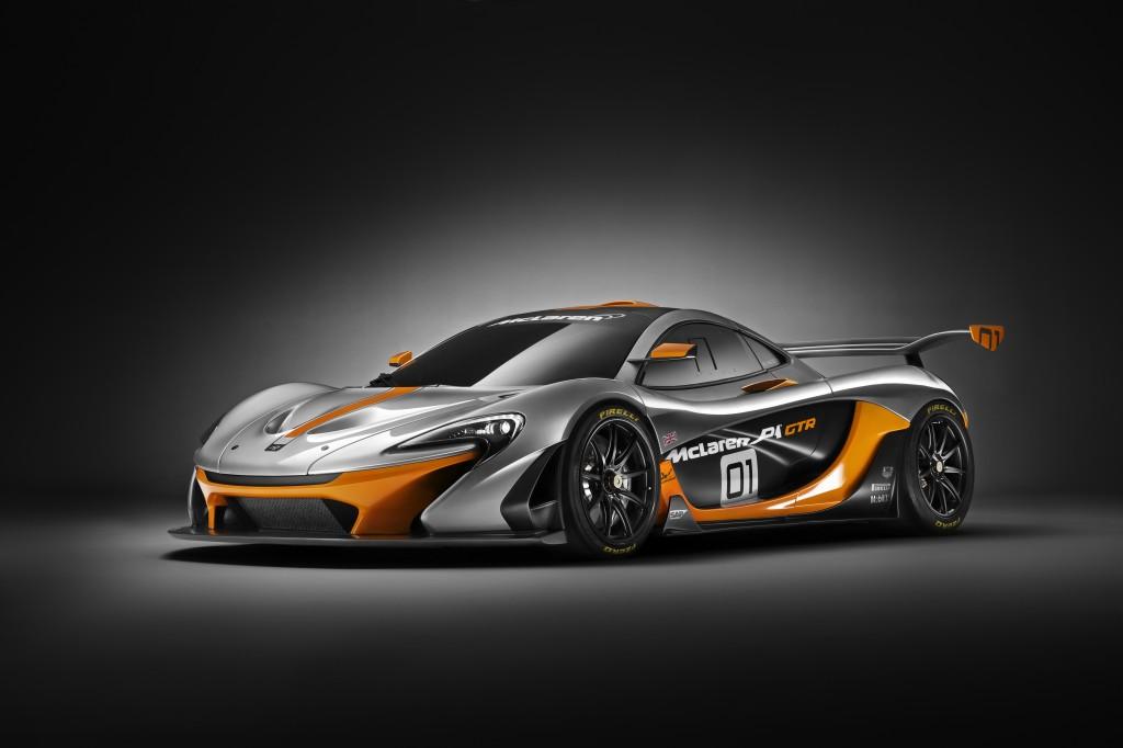 McLaren P1 GTR front 3_4