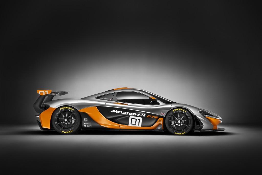 McLaren P1 GTR side