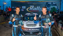 HIGGINS AND DREW TAKE OJIBWE FORESTS RALLY VICTORY