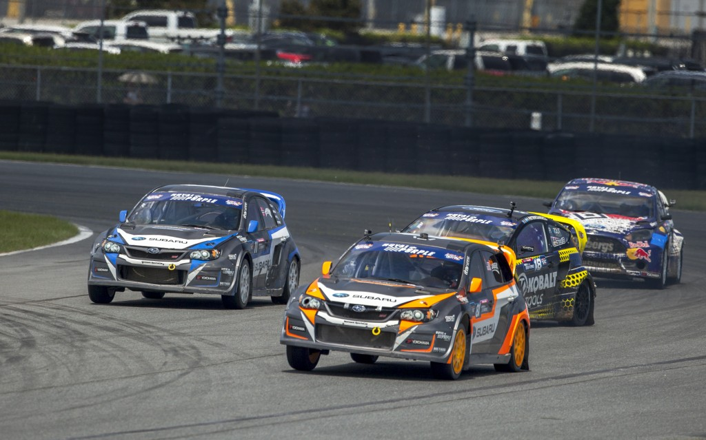 Subaru_Rally_Team_USA_drivers_Lasek_and_Isachsen_both_claimed_at_top_five_finish_at_Red_Bull_GRC_Daytona,_with_Lasek_claiming_third.