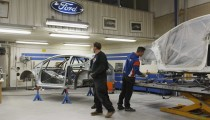 Ford Racing Takes Fans Behind the Scenes at Olsbergs MSE's Rally Car Shop in Sweden