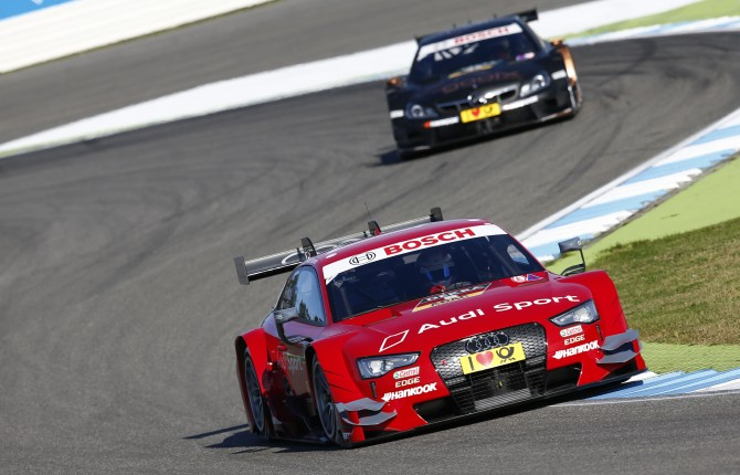 STRONG AUDI SHOWING IN DTM FINALE AT HOCKENHEIM