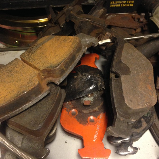 Bedding in your Racing Brake Pads (Hawk)