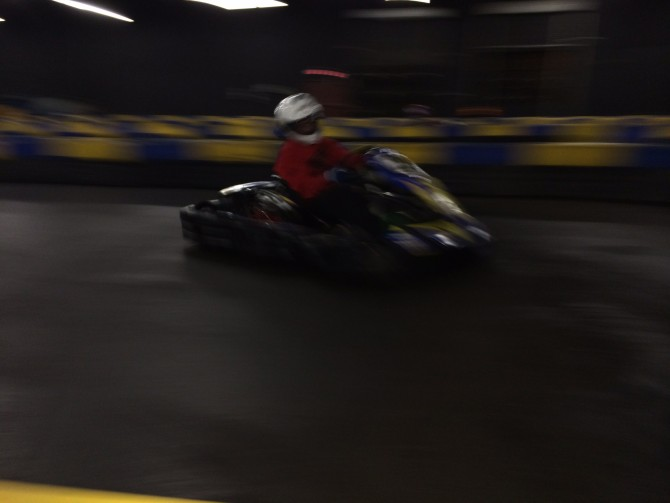 Build Race Party goes Indoor Karting