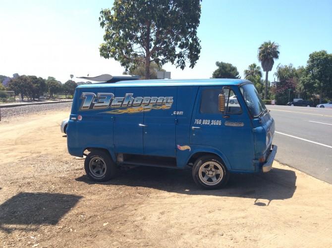 Custom Van Awesomeness