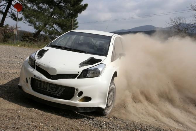 A Yaris to run in World Rally Championship?