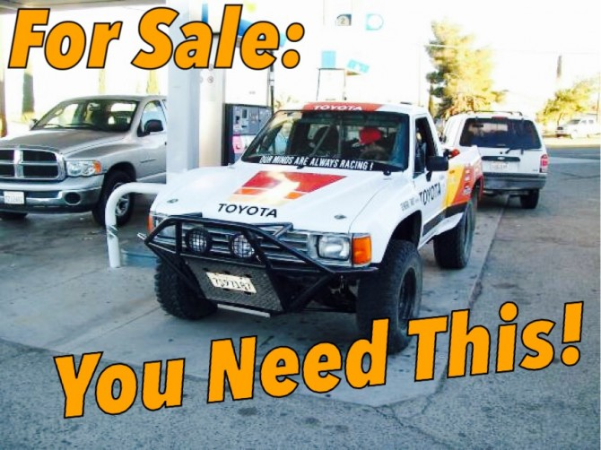 For Sale: 1987 Toyota Pre-Runner