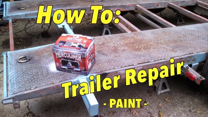 Herculiner DIY Bedliner paint review