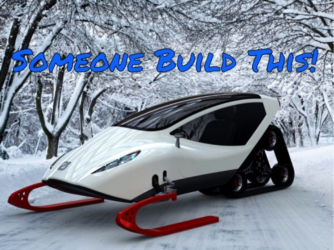 Snowmobile of the Future?