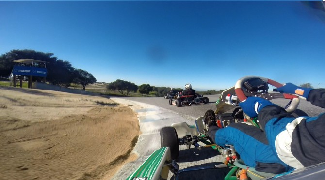 Last Place to Top 3 Shifter Kart Battle at Laguna Seca