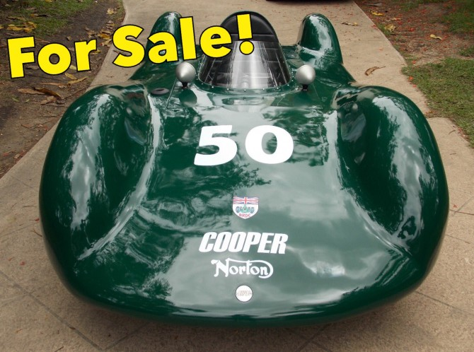 For Sale: 1950 Cooper Streamliner