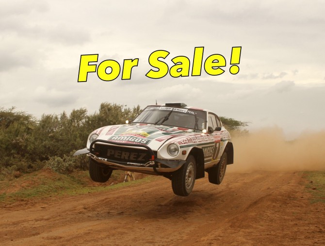 For Sale: Datsun 260z Rally Car
