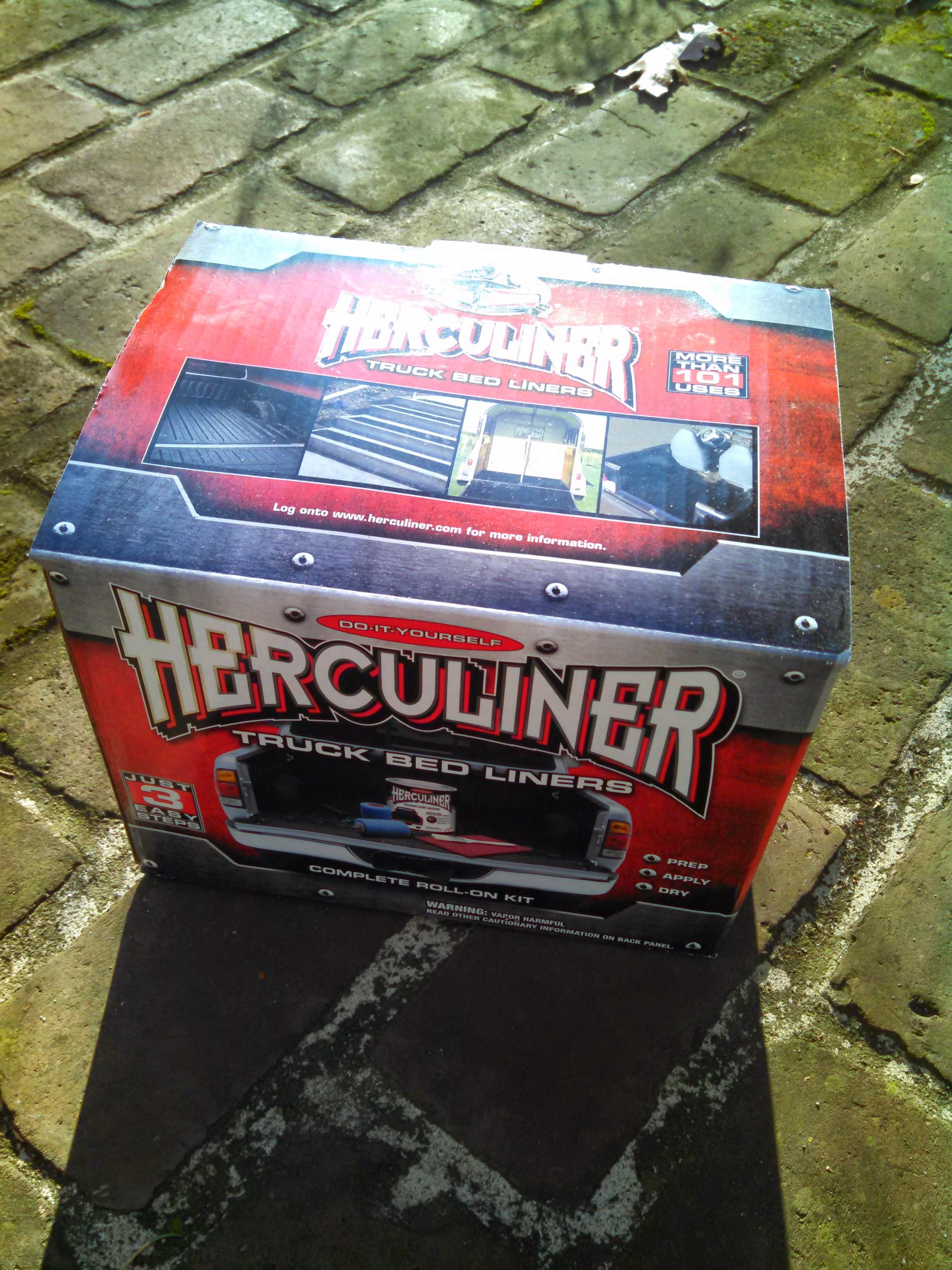 Herculiner Diy Bedliner Paint Review Build Race Party