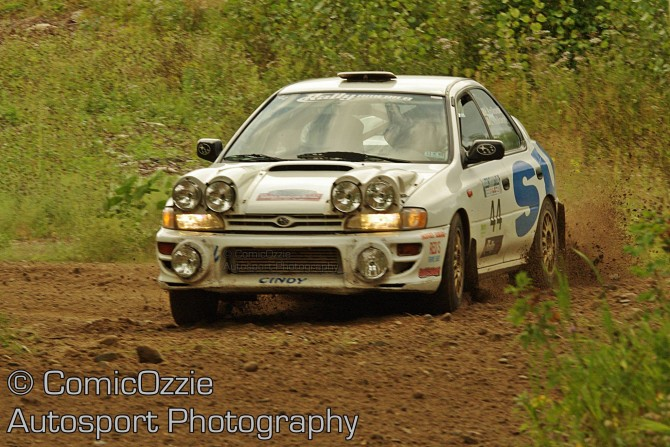 Open Light Rally Car Wins Stage 12 Overall