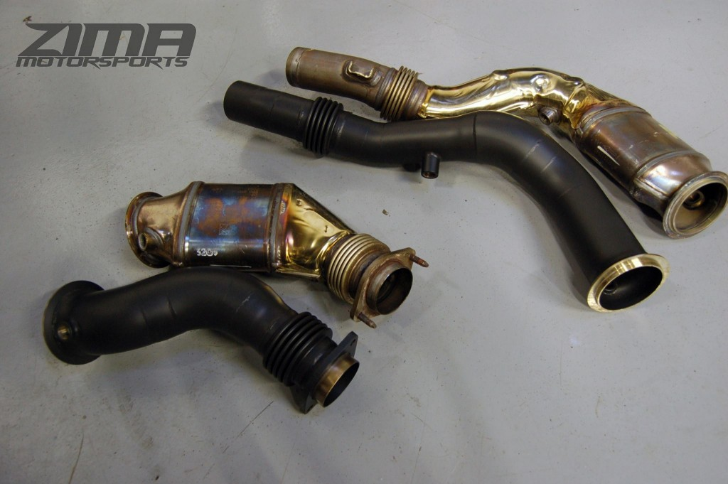 Zima M3/M4 downpipe comparison