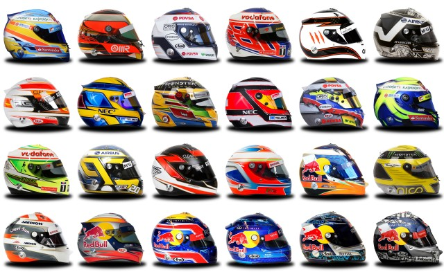 Formula 1 to Limit Helmet Design Changes in 2015