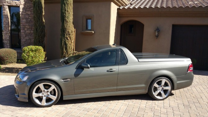"Pontiac G8 ""Holden Ute"" conversion on ebay!"