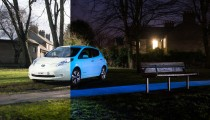 FACTORY GLOW-IN-THE-DARK CAR PAINT? NISSAN MAKES IT A REALITY