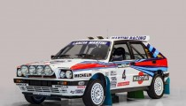 RARE LANCIA QUARTET ANCHORS WORLD RALLY CLASS