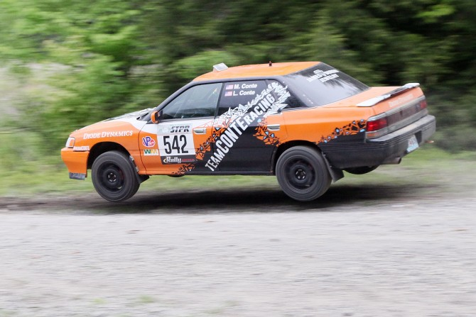 Rally Interview: Matthew Conte before 100 Acre Woods 2015