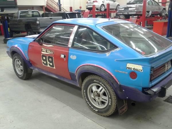 AMC 1982 rally car for sale back end