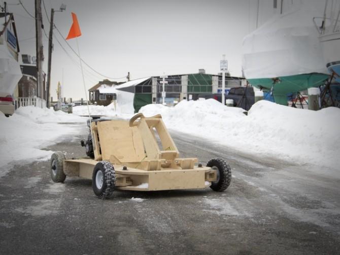 Wooden Go-Kart Kickstarter!