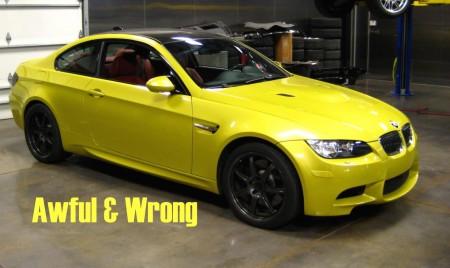BMW Yellow