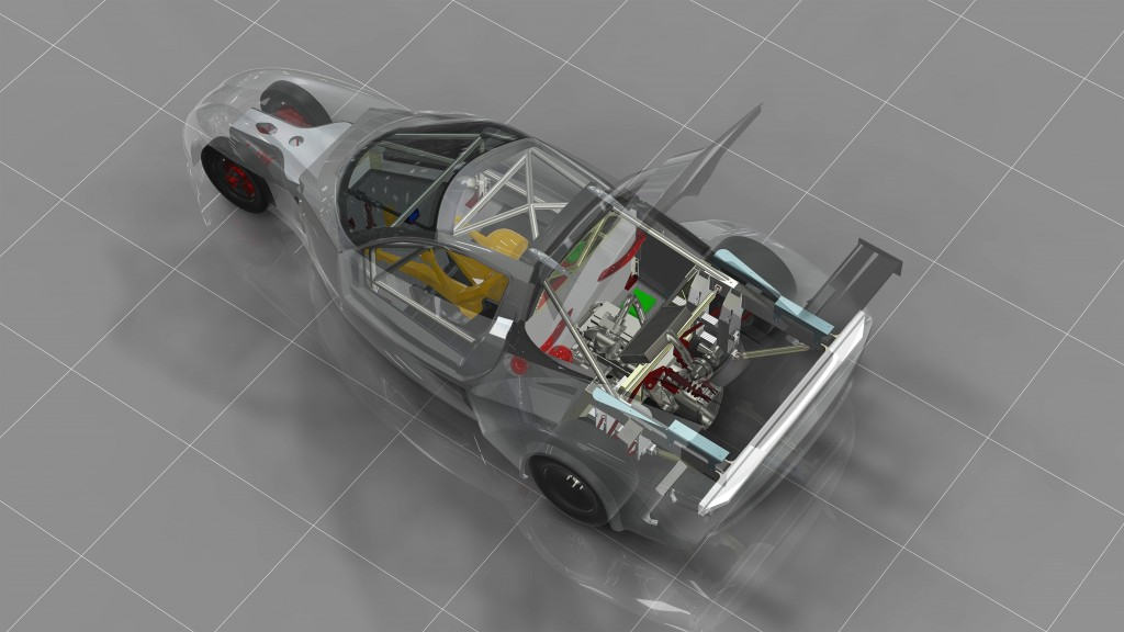 DeltaWing GT race car - early concept 2