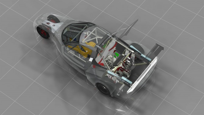 Deltawing Announces GT Race Car Concept