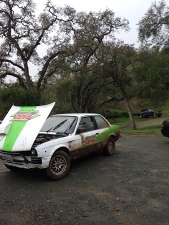 E30 turbo rally car