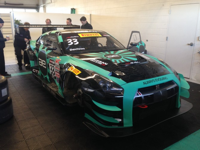 NISSAN READY FOR  PIRELLI WORLD CHALLENGE SEASON OPENER