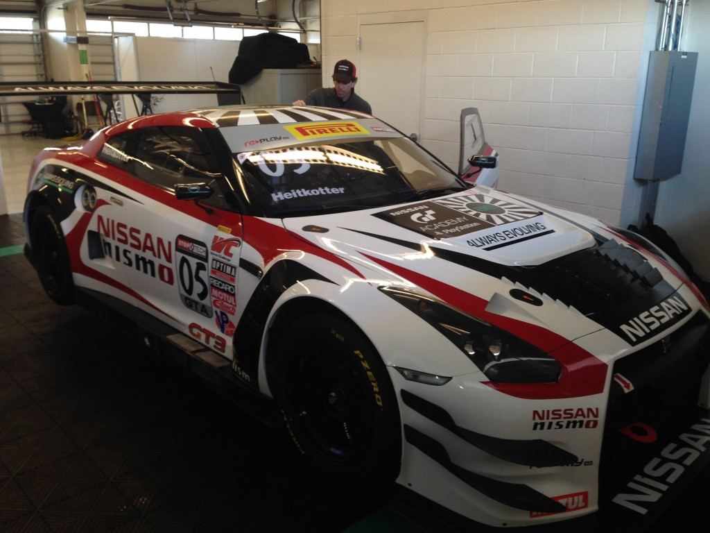 Nissan ready for season opening Pirelli World Challenge event th